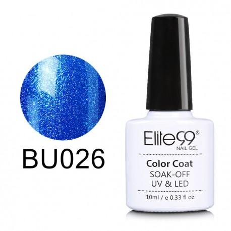 Elite99 Soak Off Uv Led Gel Nail Polish Magic Blue Color Series