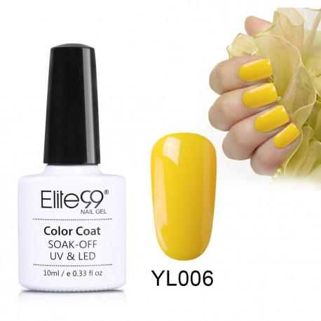Elite99 Nude Yellow Series Nail Polish Nail Art Manicure Soak Off