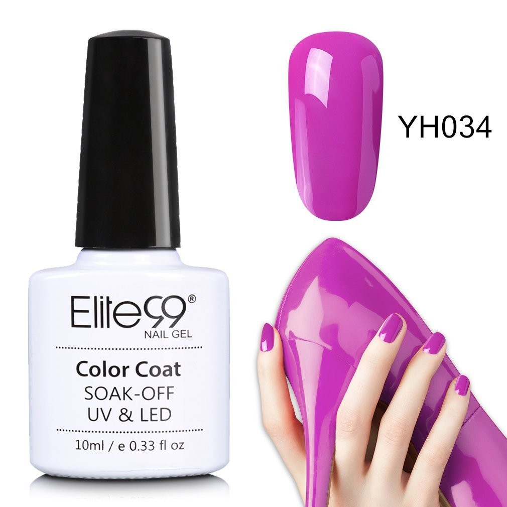 Elite99 Magenta Series Nail Polish Nail Art Manicure Soak Off Colour ...