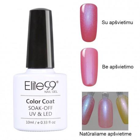 Elite99 Colorful Pearl Effect Nail Polish Nail Art Manicure Soak Off ...