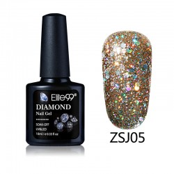 Elite99 Diamond Glitter gelinis lakas 10ml (ZSJ05)