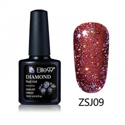 Elite99 Diamond Glitter gelinis lakas 10ml (ZSJ09)