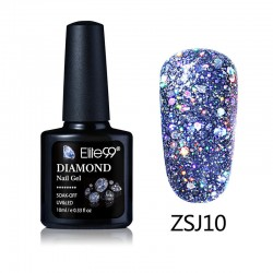 Elite99 Diamond Glitter gelinis lakas 10ml (ZSJ10)