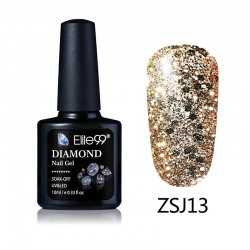 Elite99 Diamond Glitter gelinis lakas 10ml (ZSJ13)