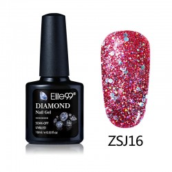 Elite99 Diamond Glitter gelinis lakas 10ml (ZSJ16)