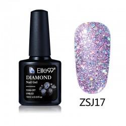 Elite99 Diamond Glitter gelinis lakas 10ml (ZSJ17)