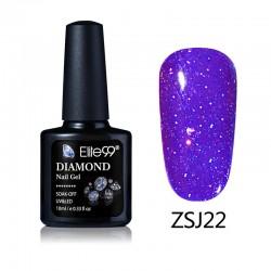 Elite99 Diamond Glitter gelinis lakas 10ml (ZSJ22)