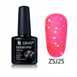Elite99 Diamond Glitter gelinis lakas 10ml (ZSJ25)