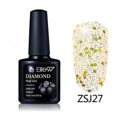 Elite99 Diamond Glitter gelinis lakas 10ml (ZSJ27)