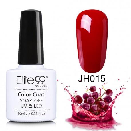 Elite99 Soak Off Uv Led Gel Nail Polish Wine Red Color Series