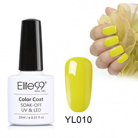 Elite99 Nude Yellow Series Nail Polish Nail Art Manicure Soak Off