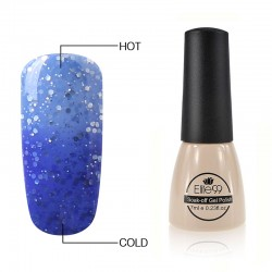 Elite99 Termo gelinis lakas 7ml (5730) Glitter Strong Blue/Marina