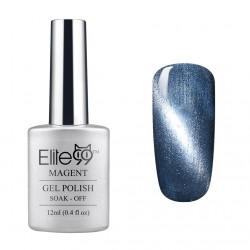 Elite99 12ML (6584) Magnetinis Shimmer Silver Grey