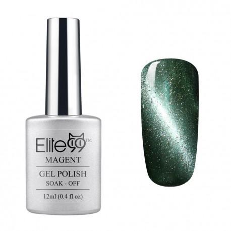 Elite99 12ML (6585) Magnetinis Glitter Greyish-green