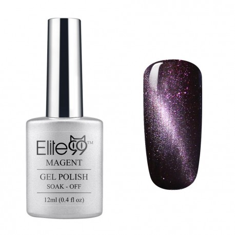 Elite99 12ML (6597) Magnetinis Shimmer Dark Purple