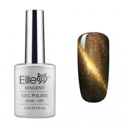 Elite99 12ML (9901) Magnetinis Black Brown with Gold Eye