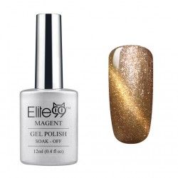 Elite99 12ML (9913) Magnetinis Pearl Champagne with Gold Eye