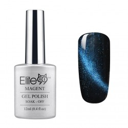 Elite99 12ML (9919) Magnetinis Dark Blue with Blue Eye