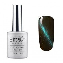 Elite99 12ML (9922) Magnetinis Olive Green with Blue Eye