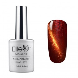 Elite99 12ML (9924) Magnetinis Brownish Red with Gold Eye