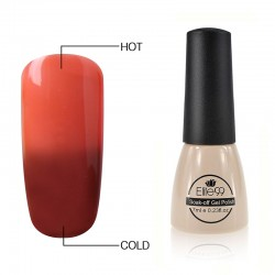 Elite99 Termo gelinis lakas 7ml (5744) Chocolate/Coral