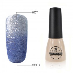 Elite99 Termo gelinis lakas 7ml (5746) Glitter Dogerblue/Clear Blue