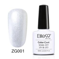 Elite99 Pearl Glitter gelinis lakas 10ml (ZG001)