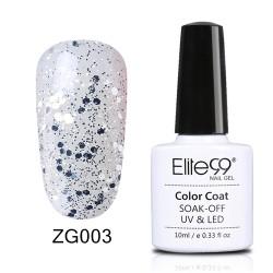 Elite99 Pearl Glitter gelinis lakas 10ml (ZG003)