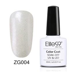 Elite99 Pearl Glitter gelinis lakas 10ml (ZG004)