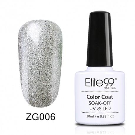 Elite99 Pearl Glitter gelinis lakas 10ml (ZG006)