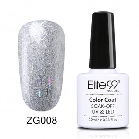 Elite99 Pearl Glitter gelinis lakas 10ml (ZG008)