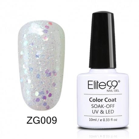 Elite99 Pearl Glitter gelinis lakas 10ml (ZG009)