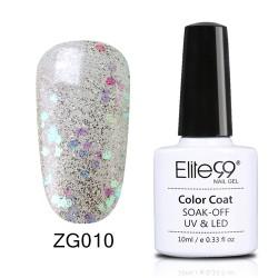 Elite99 Pearl Glitter gelinis lakas 10ml (ZG010)