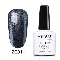 Elite99 Pearl Glitter gelinis lakas 10ml (ZG011)