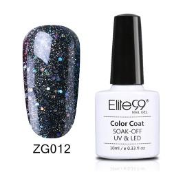 Elite99 Pearl Glitter gelinis lakas 10ml (ZG012)