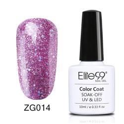 Elite99 Pearl Glitter gelinis lakas 10ml (ZG014)