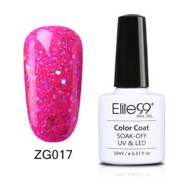 Elite99 Pearl Glitter gelinis lakas 10ml (ZG017)
