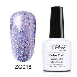 Elite99 Pearl Glitter gelinis lakas 10ml (ZG018)