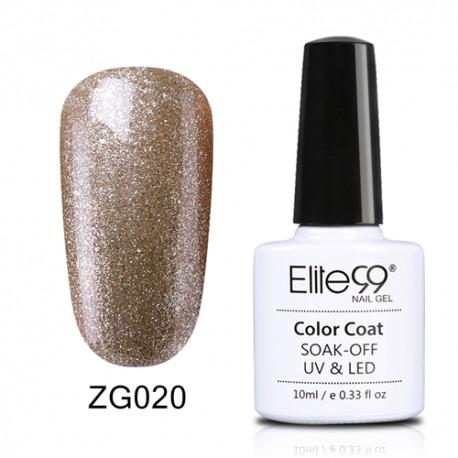 Elite99 Pearl Glitter gelinis lakas 10ml (ZG020)
