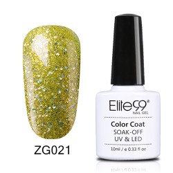Elite99 Pearl Glitter Gel Nail Polish Nail Art Manicure Soak Off Colour Nail Lacquer 10ml ZG021