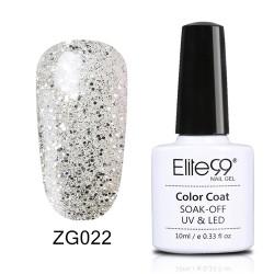 Elite99 Pearl Glitter gelinis lakas 10ml (ZG022)