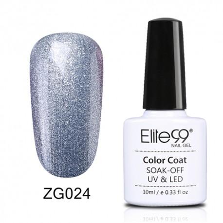 Elite99 Pearl Glitter gelinis lakas 10ml (ZG024)