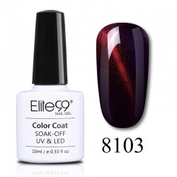 Elite99 Wine Red Cat Eye gelinis lakas 10ml (8103)