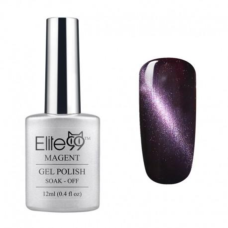 Elite99 12ML (6554) Magnetinis Pearl Purple Brown