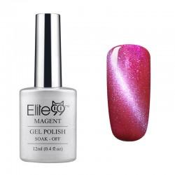 Elite99 12ML (6582) Magnetinis Shimmer Rose Red