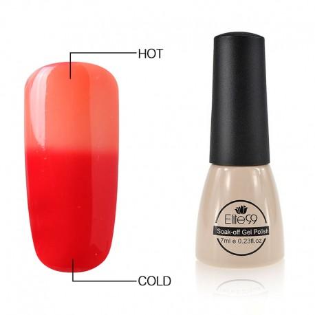 Elite99 Termo gelinis lakas 7ml (5001) Orange/Red