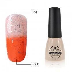 Elite99 Termo gelinis lakas 7ml (5002) Nude Pink/Orange