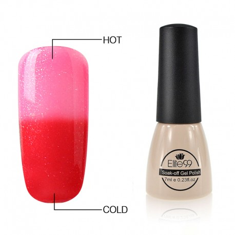 Elite99 Termo gelinis lakas 7ml (5003) Pink/Red