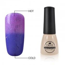 Elite99 Termo gelinis lakas 7ml (5012) Glitter Purple/Violet
