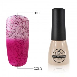 Elite99 Termo gelinis lakas 7ml (5013) Glitter Pink/Red